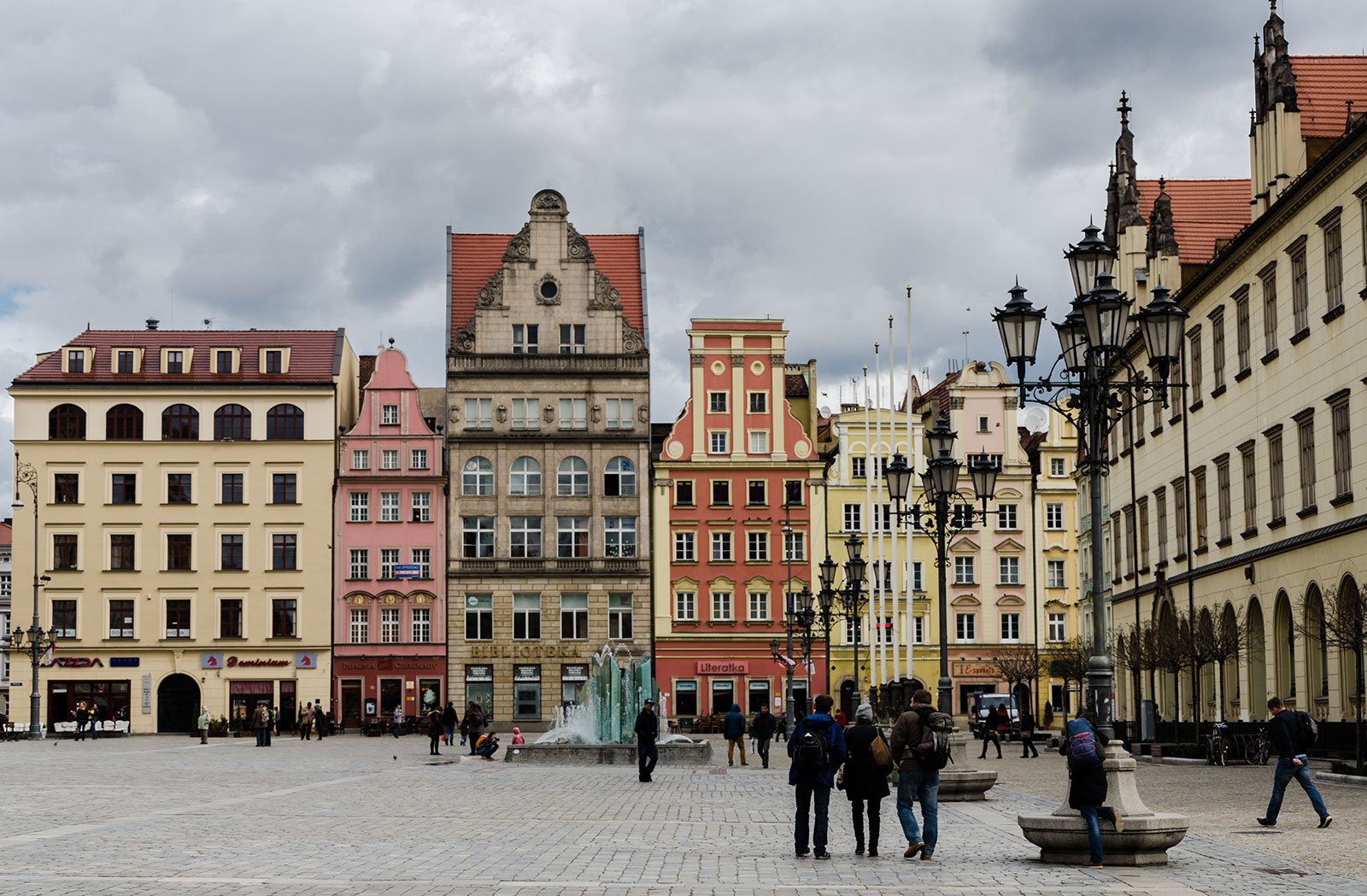 Roadtrip Pologne, Wroclaw, Place centrale