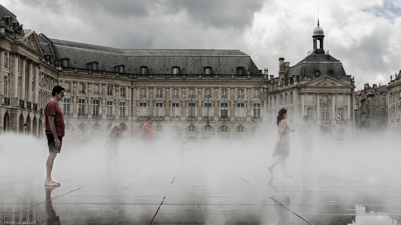 Bordeaux, le miroir d'eau