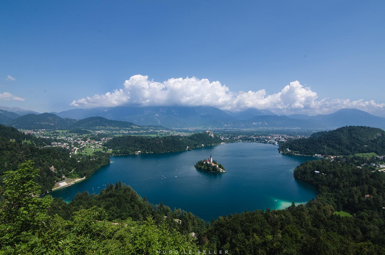 Road trip en Slovénie : le lac de Bled