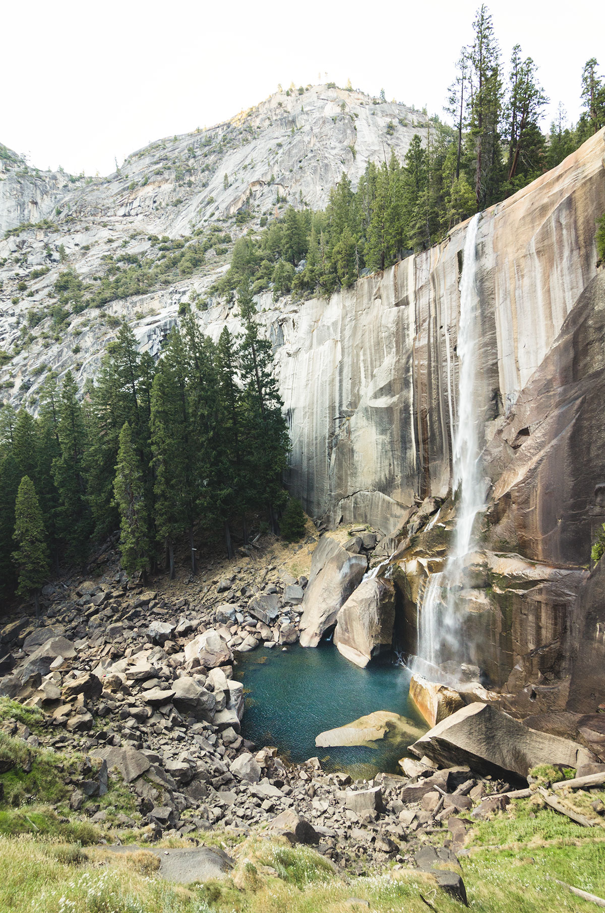 yosemite vernal fall