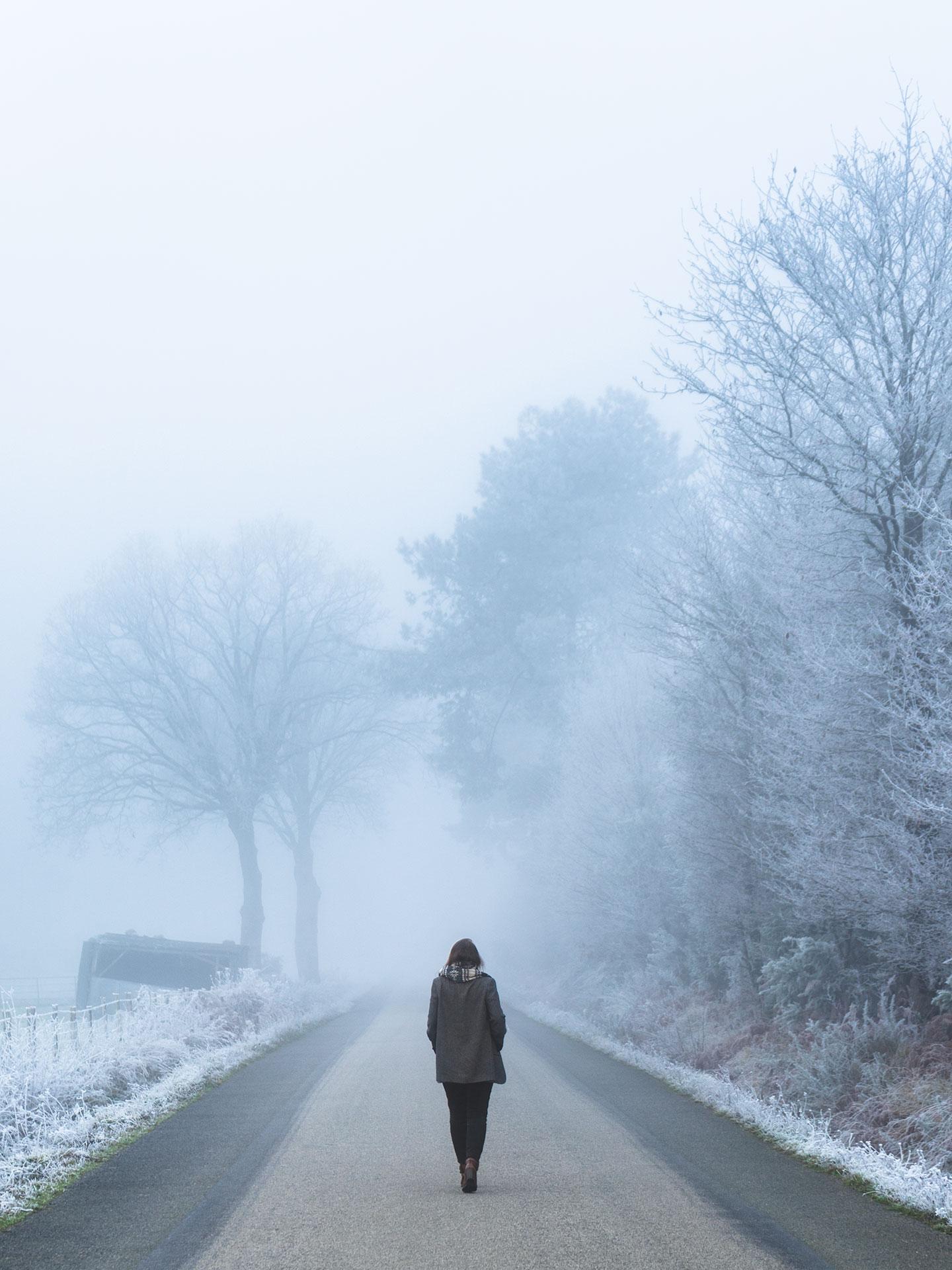 road trip en hiver