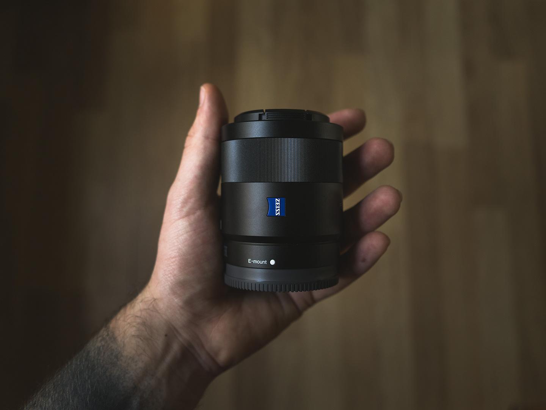 objectif sony 55mm f/1.8