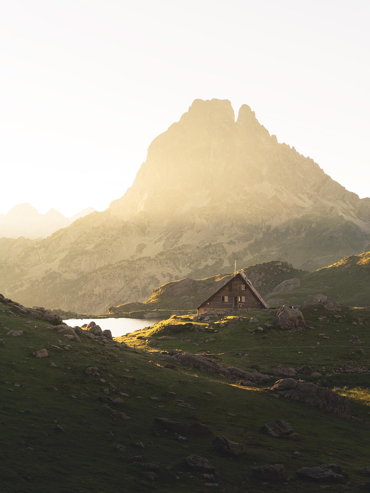refuge des lacs d'ayous