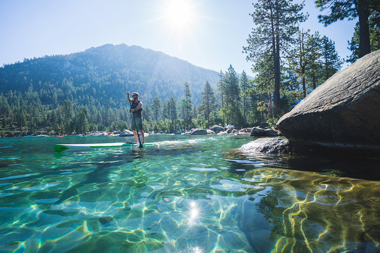lac tahoe paddle
