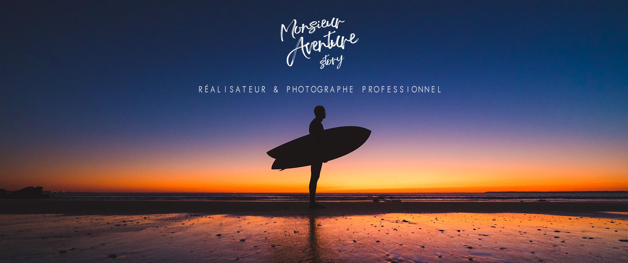 réalisateur et photographe professionnel monsieur aventure